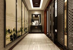 完美演绎带有灵性的中式新古典别墅装修效果图