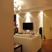 loft公寓简约电视背景墙