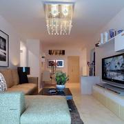 现代简约风格客厅led灯饰