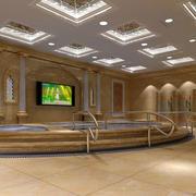 别墅私人洗浴池设计