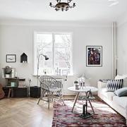 北欧风格客厅窗户设计
