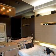 复式楼奢华卧室装饰