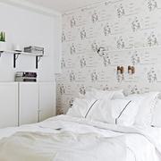 公寓清新风格卧室效果图