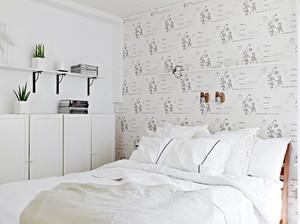 90平米白雅清新俏丽的单身公寓装修效果图