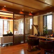 东南亚风格客厅隔断