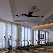 现代简约风格健身房设计