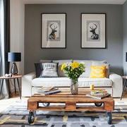 客厅木制茶几设计