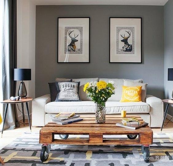 缺一不可:完美客厅独特茶几装修效果图片欣赏