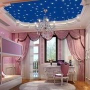 家庭粉色系儿童房装修