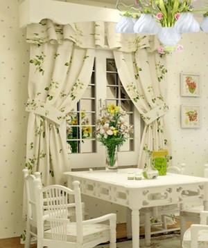 欧式田园风格客厅桌椅