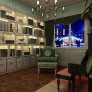婚房欧式奢华书房装修