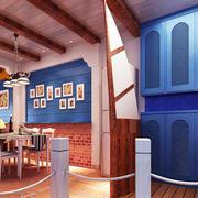 一体式儿童房餐厅装修