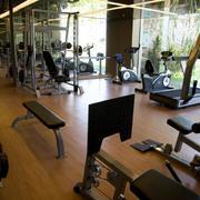 大型私人健身房效果图