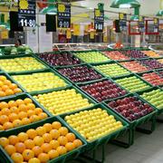 水果商店货架装修