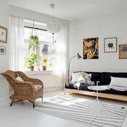北欧风格客厅灯饰设计