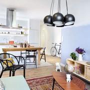 简约公寓桌椅装饰
