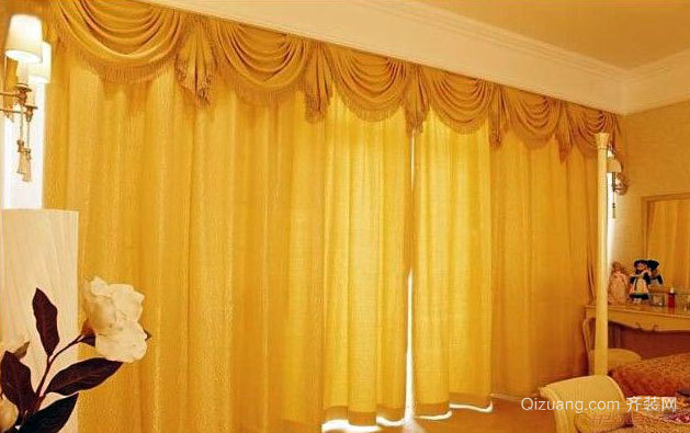 既隔热又隔音的多功能别墅窗帘效果图