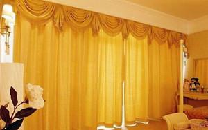 别墅奢华窗帘设计
