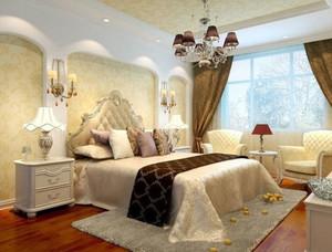 优雅居室设计:全新简欧风格小卧室装修效果图