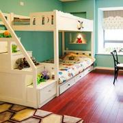 简约风格儿童房地板设计