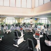大型健身房地板设计