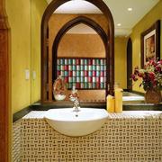 东南亚风格卫生间设计