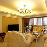 私人公寓石膏线设计