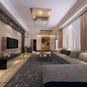 三室两厅客厅沙发设计