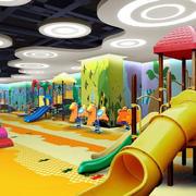 儿童游乐场吊顶设计