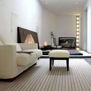 复式楼客厅地毯设计
