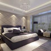 欧式卧室软包床头背景墙