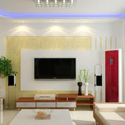 后现代风格简约沙发装饰
