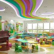 教室简约风格吊顶装修