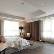 美式卧室斜顶吊顶设计