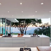 别墅大型客厅led灯饰设计