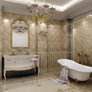 欧式卫生间镜饰设计