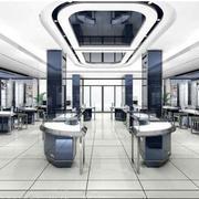 大型欧式店铺柜台设计