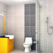 色彩鲜明浴室橱柜
