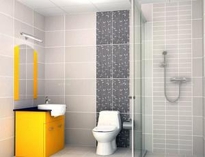 舒适时尚的家庭浴室装修效果图欣赏图集