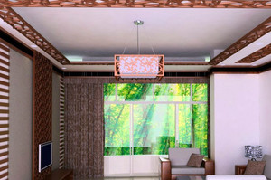 120平米后现代风格房屋装修效果图