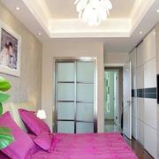 现代简约风格卧室吊顶设计