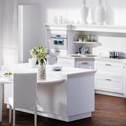 白色简约风格橱柜设计