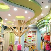 童装店创意吊顶设计