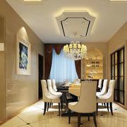 公寓餐厅地板装饰
