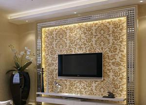 新潮的马赛克电视背景墙装修效果图一览