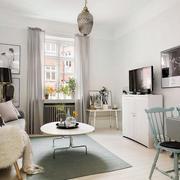北欧风格客厅飘窗设计