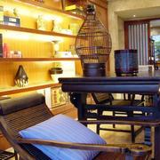 别墅楠木桌椅设计