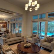 室内客厅简约沙发设计