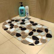 洗手间仿石块防滑垫