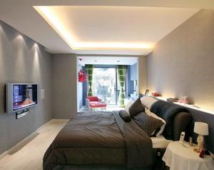 就是这么任性:百变90平米两室一厅公寓装修效果图